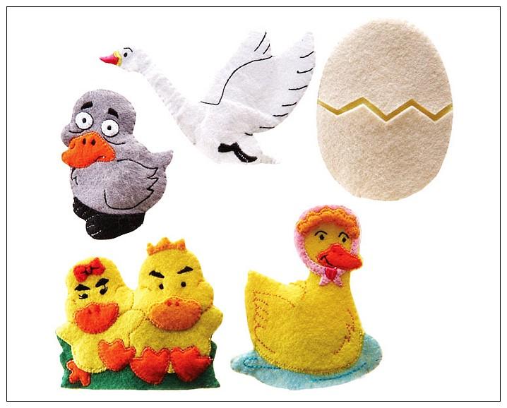 內頁放大:童話手指玩偶-醜小鴨 絕版品 可訂數量:1