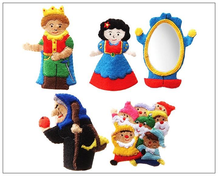 內頁放大:童話手指玩偶-白雪公主(85折)