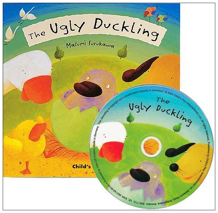 內頁放大:經典童話(翻翻書+CD):THE UGLY DUCKLING(醜小鴨)