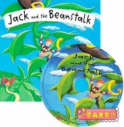 經典童話(翻翻書+CD):JACK AND THE BEANSTALK(傑克與魔豆)