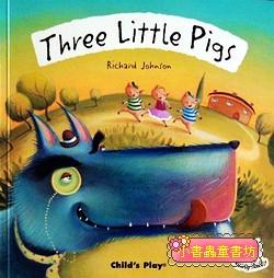 經典童話(翻翻書+CD):THREE LITTLE PIGS(三隻小豬)