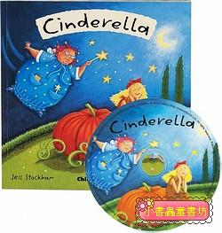 經典童話(翻翻書+CD):CINDERELLA(仙杜瑞拉)