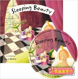經典童話(翻翻書+CD):SLEEPING BEAUTY(睡美人)