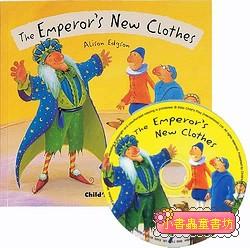 經典童話(翻翻書+CD):THE EMPEROR,S NEW CLOTHES(國王的新衣)