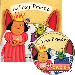 經典童話(翻翻書+CD):THE FROG PRINCE(青蛙王子)