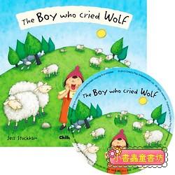 經典童話(翻翻書+CD):THE BOY WHO CRIED WOLF(放羊的孩子)