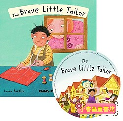 經典童話(翻翻書+CD):THE BRAVE LITTLE TAILOR(勇敢的小裁縫)