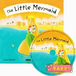 經典童話(翻翻書+CD):THE LITTLE MERMAID(人魚公主)