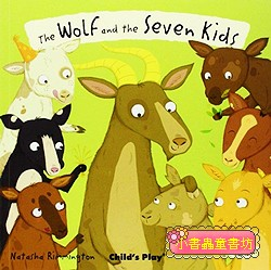 經典童話(翻翻書+CD):THE WOLF AND THE SEVEN KIDS(七隻小羊)