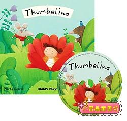 經典童話(翻翻書+CD):THUMBELINA(拇指姑娘)