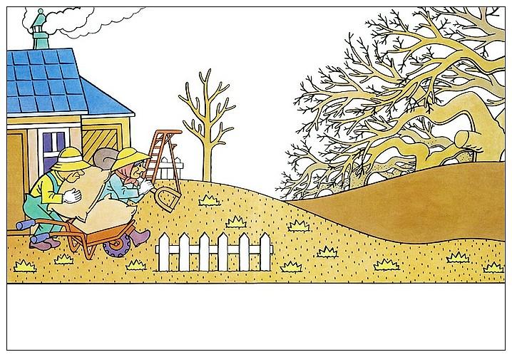 內頁放大:孤單的小蘋果樹