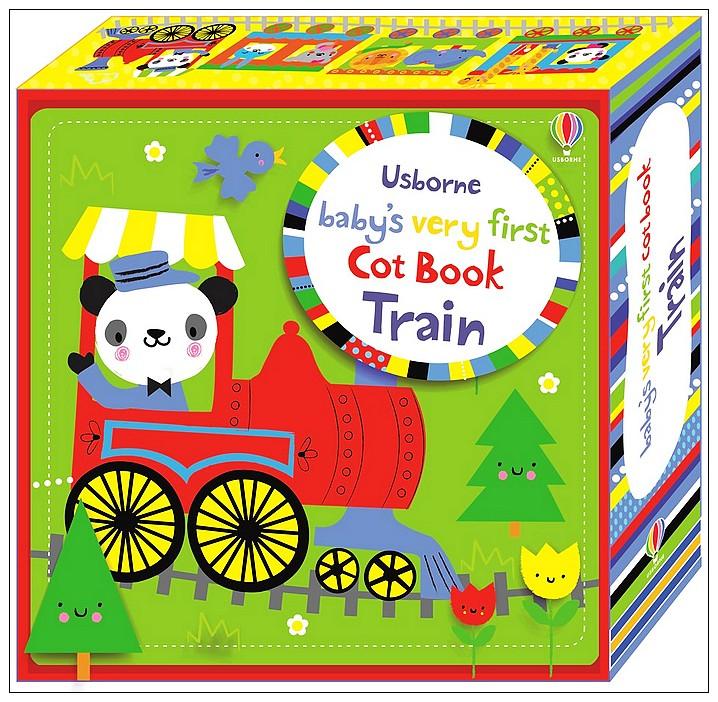 內頁放大:床圍連環布書:BABY,S VERY FIRST COT BOOK TRAIN (85折)