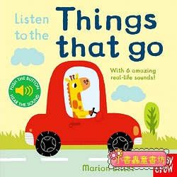 聲音音效書:LISTEN TO THE THINGS THAT GO