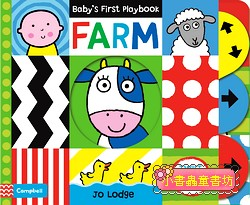 硬頁操作書:BABY,S FIRST PLAY BOOK FARM
