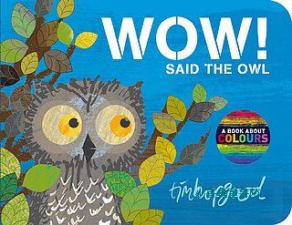 WOW! Said the Owl (哇!貓頭鷹說) 基礎認知硬頁書: 顏色