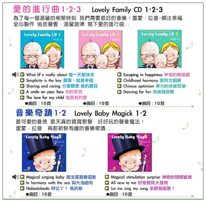 內頁放大:寶寶的異想世界Ⅱ (Lovely Baby ) 5合1