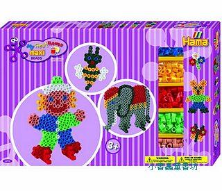 大豆豆創作組合:大象、小丑(分色)(1cm)