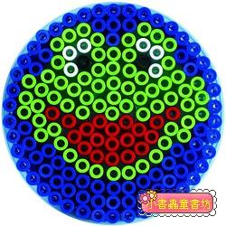 大圓形透明模板:大拼豆模板