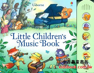 LITTLE CHILDREN'S MUSIC BOOK(音樂音效書)
