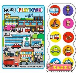 NOISY PLAYTOWN(聲音音效書)