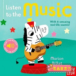 聲音音效書:Listen to the Music (硬頁)