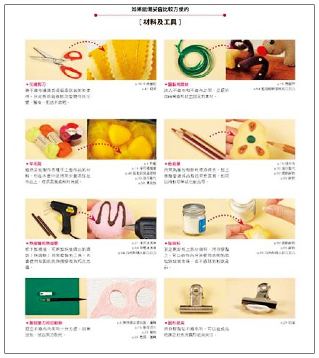 內頁放大:用不織布縫製美味家家酒世界:不織布手作書 (中文)(自己做玩具)