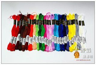 27色棉質繡線