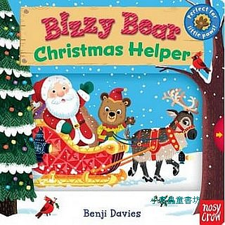 BIZZY BEAR: CHRISTMAS HELPER/硬頁書