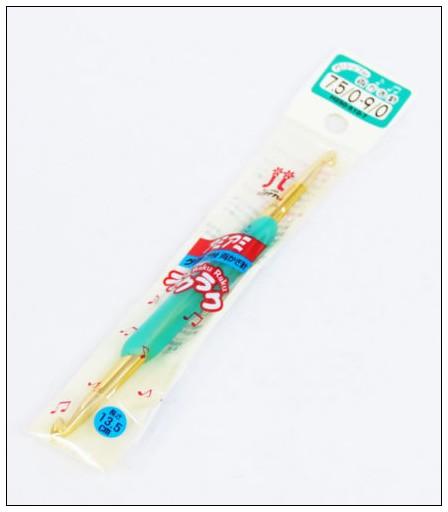 內頁放大:Hamanaka樂樂雙頭鉤針7.5/0-9/0 (綠)