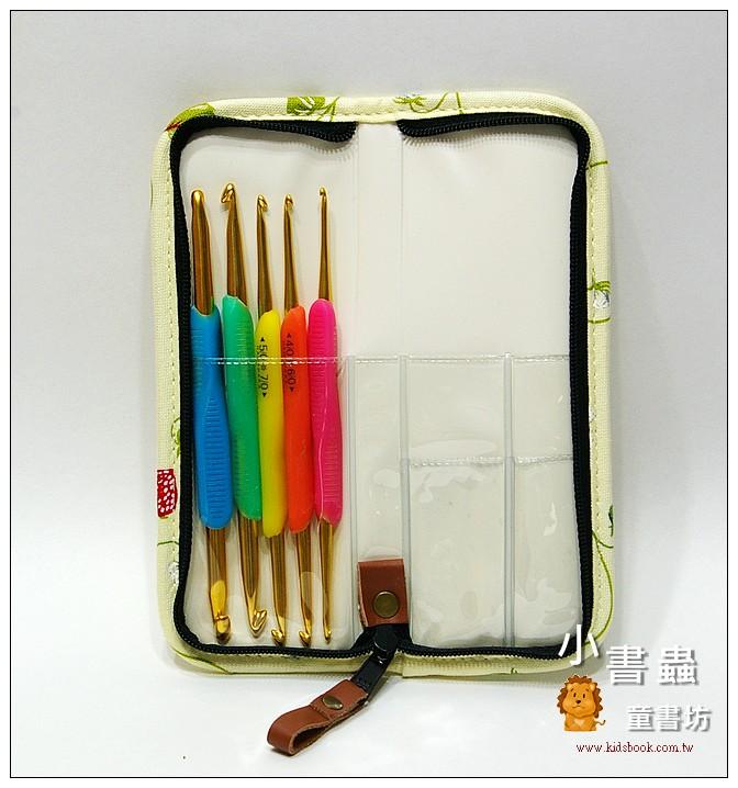 內頁放大:Hamanaka樂樂雙頭鉤針套組(含收納包)(草莓)