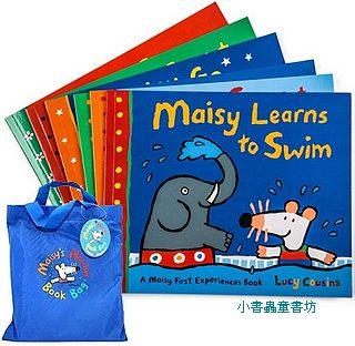 小鼠波波:MAISY HOLIDAY BOOK BAG (內含平裝六書+1玩偶)