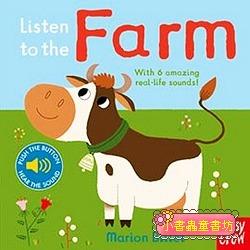 聲音音效書:Listen To The Farm (硬頁)