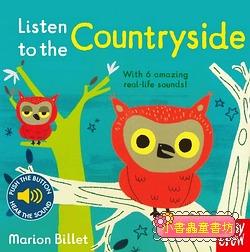 聲音音效書:Listen To The Countryside (硬頁)