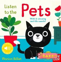 聲音音效書:Listen To The Pets (硬頁)