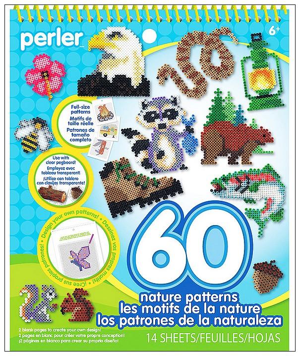 內頁放大:拼拼豆豆:一比一造型圖案創意示範書(六)60個大自然專輯