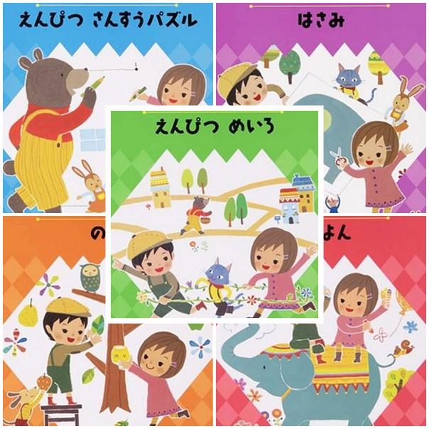 內頁放大:幼稚園學習練習本:多元學習5合1(78折)