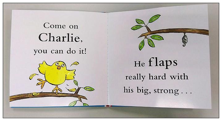 內頁放大:立體書:CHARLIE CHICK LEARNS TO FLY(85折)現貨:2