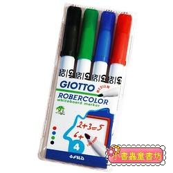 義大利 GIOTTO─兒童專用白板筆(4色) 79折