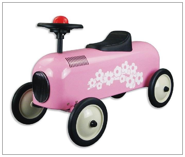 內頁放大:幼兒4輪滑步車:小公主車(粉紅)
