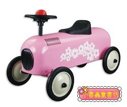 幼兒4輪滑步車:小公主車(粉紅)