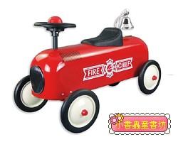 幼兒4輪滑步車:消防車(紅色)