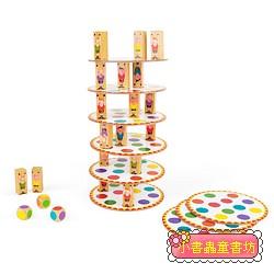 【法國Janod】趣味桌遊-疊疊塔