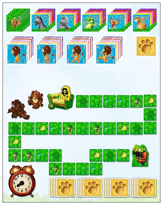 內頁放大:獅子剪髮大冒險 桌上遊戲 (中文版) Leo