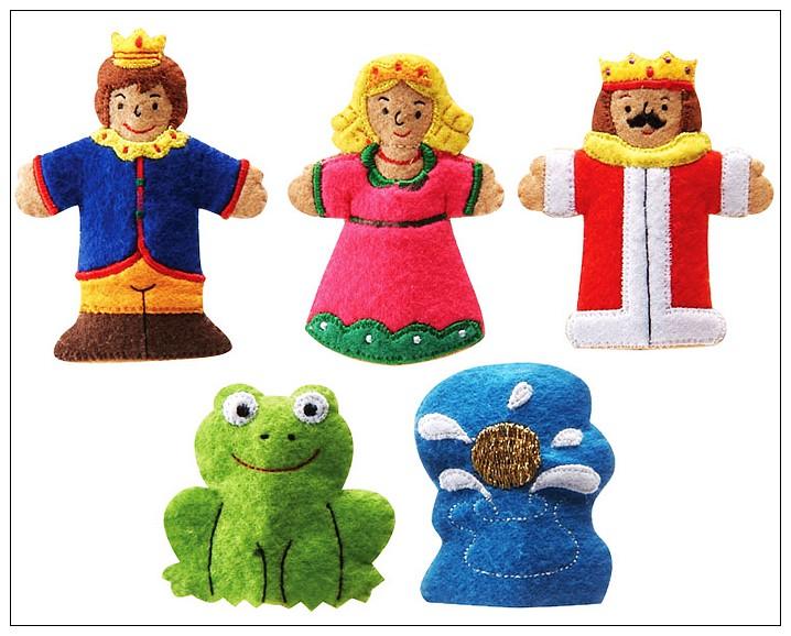 內頁放大:童話手指玩偶-青蛙王子 絕版品 可訂數量:1