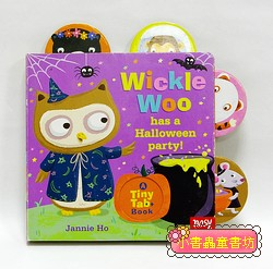 Wickle Woo has a Halloween party! (硬頁拉拉書)