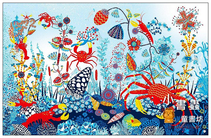 內頁放大:海底躲貓貓: 海洋生物總動員, 怎麼找都玩不膩的神奇水世界 (79折)