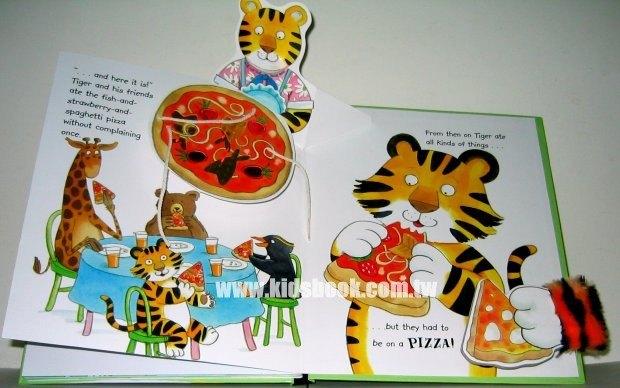 內頁放大:Tiger EATS Pizza