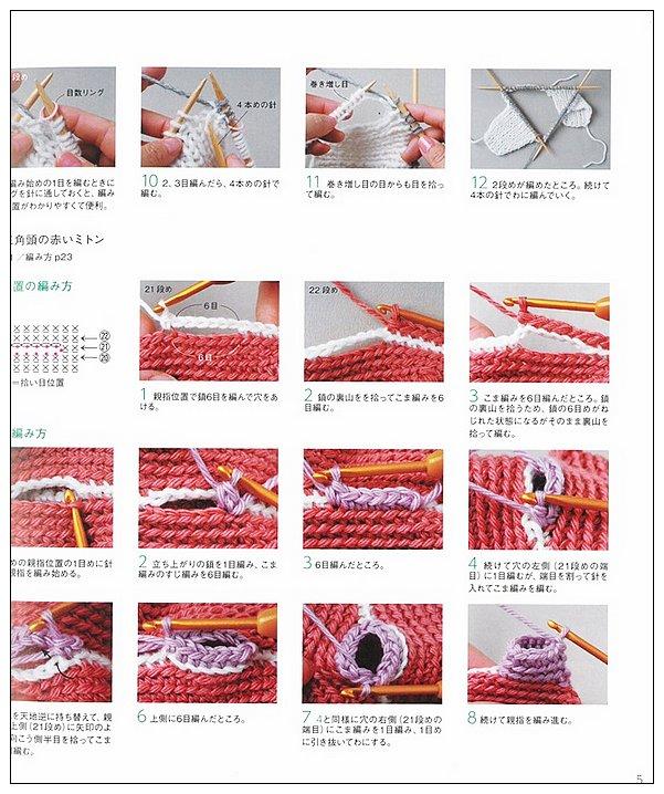 內頁放大:北歐歐洲風格時髦編織小物設計23款