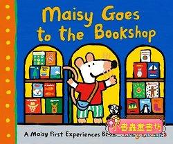 小鼠波波繪本故事:Maisy Goes to the Bookshop(精裝)(波波逛書店) 現貨數量:1