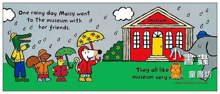 內頁放大:小鼠波波繪本故事:Maisy Goes to the Museum(波波去博物館) (平裝)